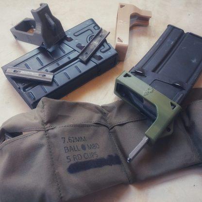 CETME G3 magazine clip loader M14 bandolier