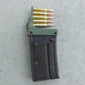 Olive Drab Green CETME G3 magazine clip loader