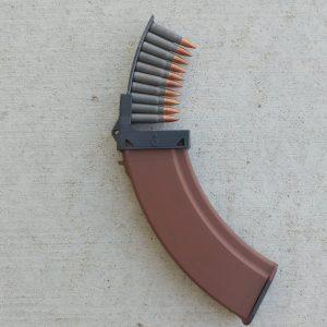 black akm magazine clip loader