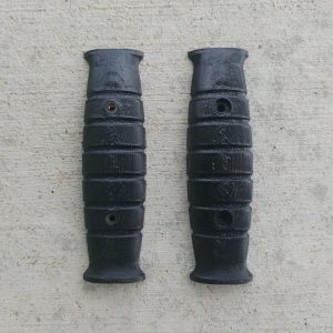 Retro style black M7 bayonet scales