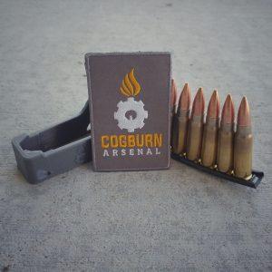 Cogburn Arsenal velcro patch