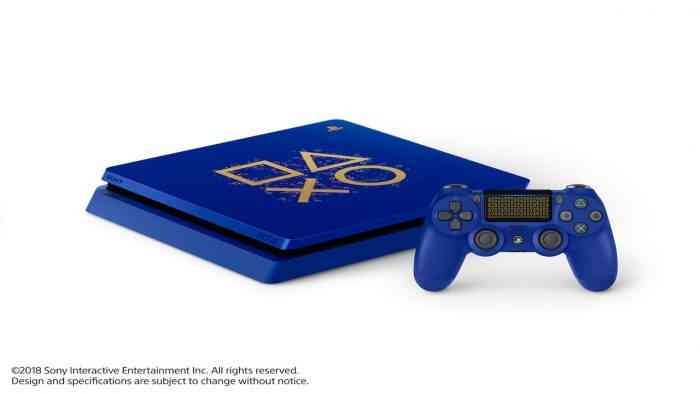 Sony Announces Limited Edition Blue PS4 As Part Of Days