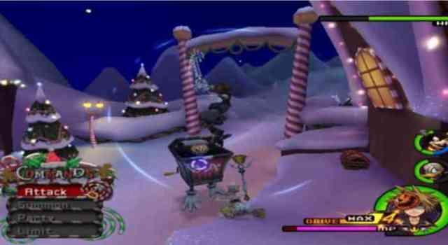 Kingdom Hearts II Christmas min