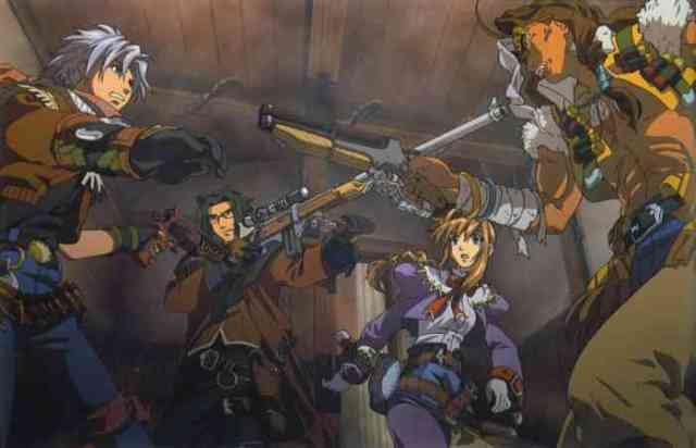 Wild ARMs 3 key art