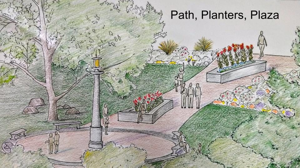 Draft Germantown Rotary design/ Holly Samuels
