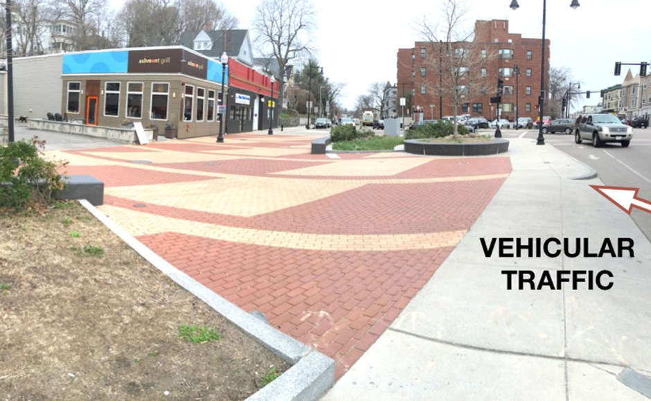 Peabody Square West Plaza - Before /