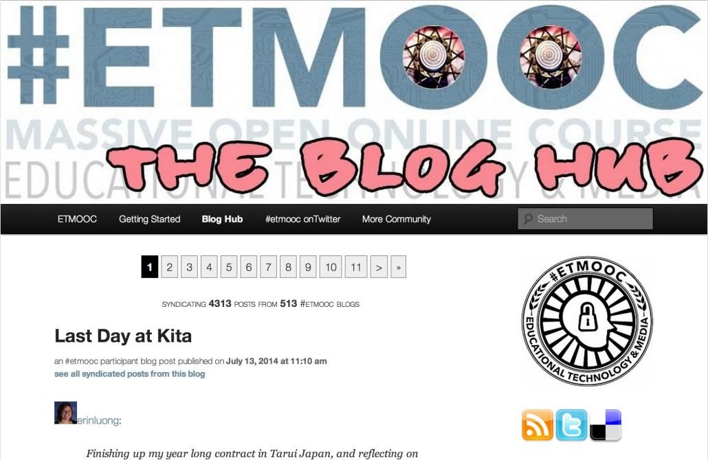 ETMOOC (etmooc.org/hub)