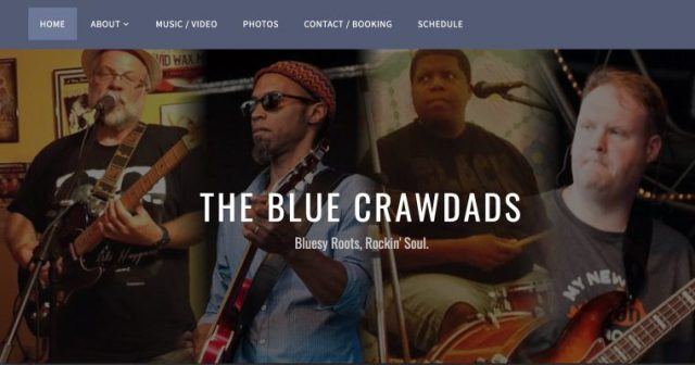 Blue Crawdads band members, from their web site