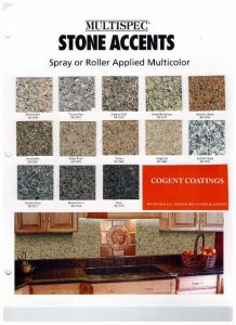 Stone Accents COGENT COATINGS Bathtub Refinishing Products
