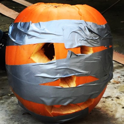 Smashing pumpkin