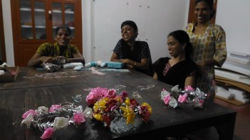 Sajitha, Jumol and Shaila