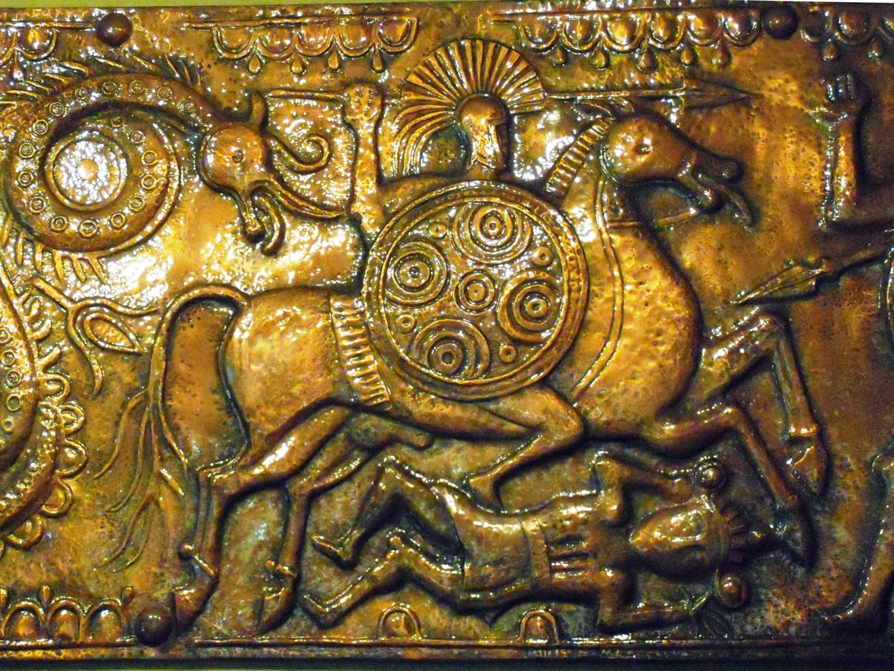 Illyrian belt buckle from Selca c230 BC, Mus Tirana