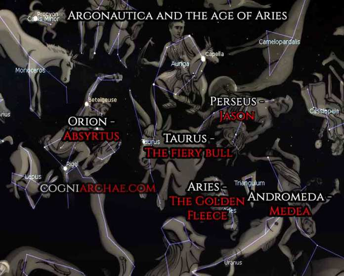 Jason Argonauts And The Age Of Aries Cogniarchae