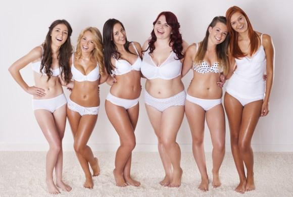 Различные типы женского тела
