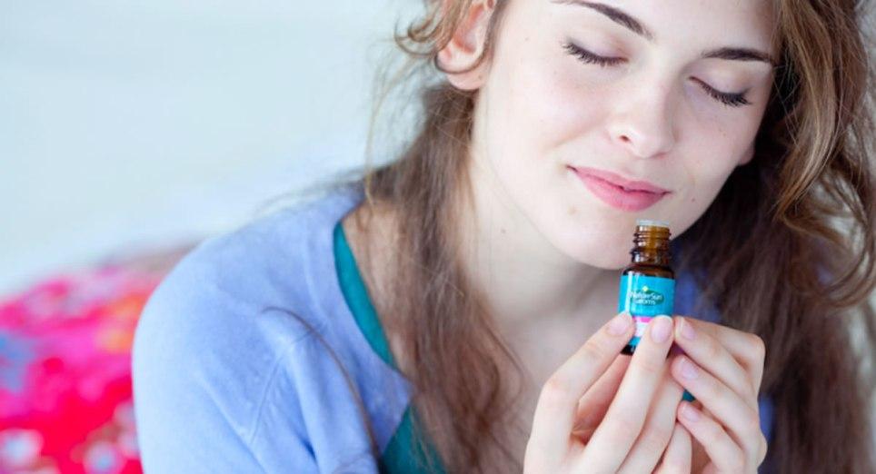 женщина и распознавание запахов