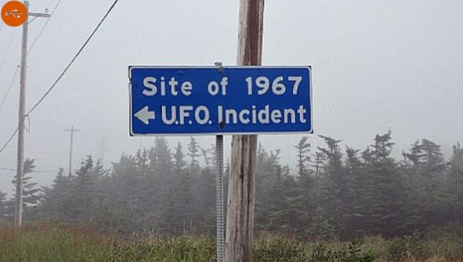 An alleged UFO crash occurred on October 4, 1967 at Shag Harbor, a fishing village in Nova Scotia.