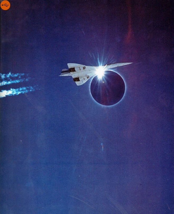 On June 30, 1973, the supersonic Concorde performed a flight