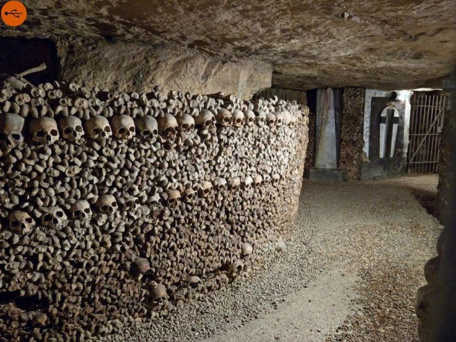 Parisian catacombs, horror and discoveries, original article by Alessandro Brizzi.