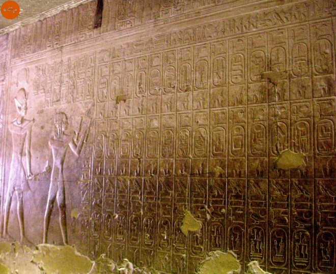 The real list of Abydos
