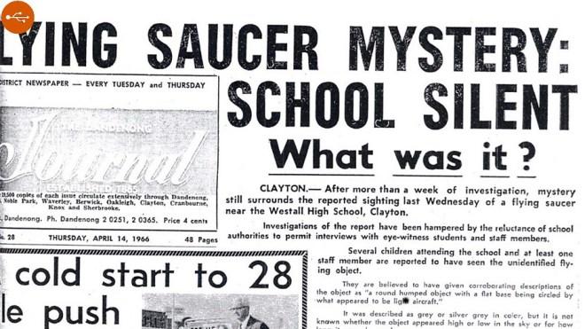 Westall School sighting