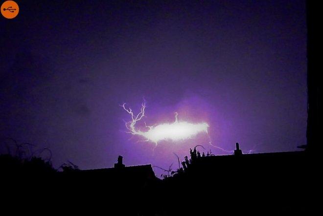 Globular lightning