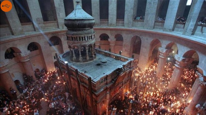 Basilica of the Holy Sepulcher in Jerusalem