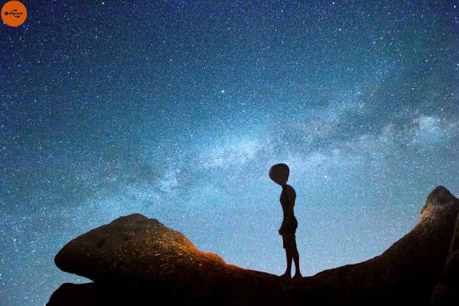 Milky Way, the aliens could be there... Original article by Alessandro Brizzi.