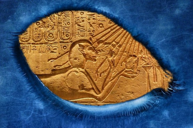 Akhenaten, the Pharaoh is represented in the Great Sphinx Original article by Alessandro Brizzi.