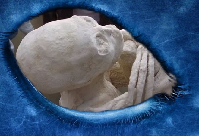 Nazca Mummy, DNA tests confirm that the mummy Maria is a hybrid between the human and alien race