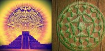 """Mayan calendar, messages encoded in the new Crop Circle """"Pentagram"""""""