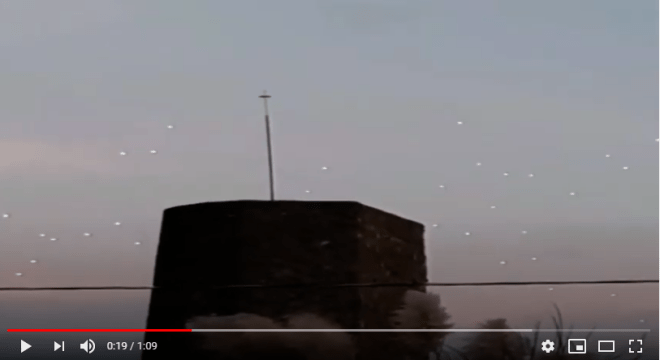 Incredible UFO sighting, in the skies of Mexico