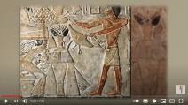 Ancestors, the ancient aliens, communicated with them?