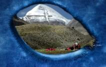 Tibet, the population has extraterrestrial descent