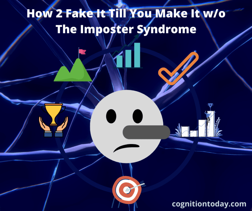 Fake it till you make it without the imposter syndrome