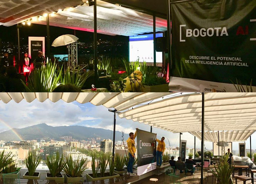 Bogotá AI event in the Colombian capital in November 2017. (Credit: Bogotá AI)