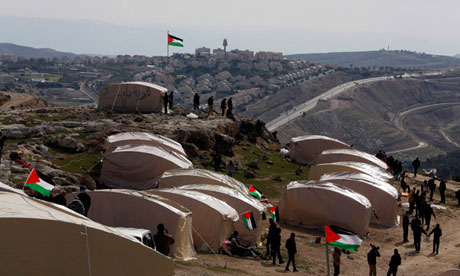 Tent Village in area E1, BabalShams, near Jerusalem