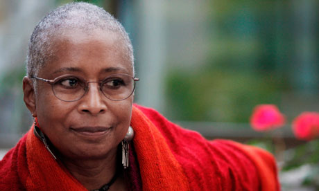 In this March 10, 2009 file photo Pulitzer Prize-winning U.S. writer Alice Walker pauses during an interview with the Associated Press in Gaza City. On June 9, 2012 Walker said in a letter sent to an Israeli daily newspaper an Israeli publisher can t release a new Hebrew edition of her Pulitzer Prize-winning novel, The Color Purple, because of Israel s treatment of the Palestinian people. Parts of the letter were published June 19, and June 20. (AP Photo/Tara Todras-Whitehill, File) Photo by Tara Todras-Whitehll/AP