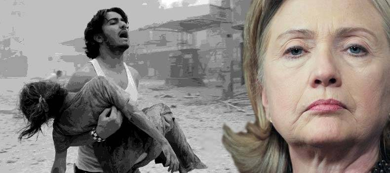 Hillary Clinton's work for Israel