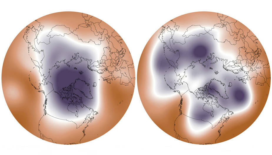 Ice Loss and the Polar Vortex: How a Warming Arctic Fuels Cold Snaps