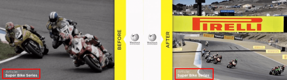 Before After Super Bike Article Pirelli on Wikipedia