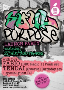 Soul Purpose Launch Flyer