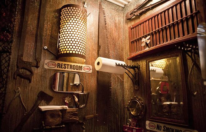 Victorian Bathrooms Versus The Steampunk Aesthetic