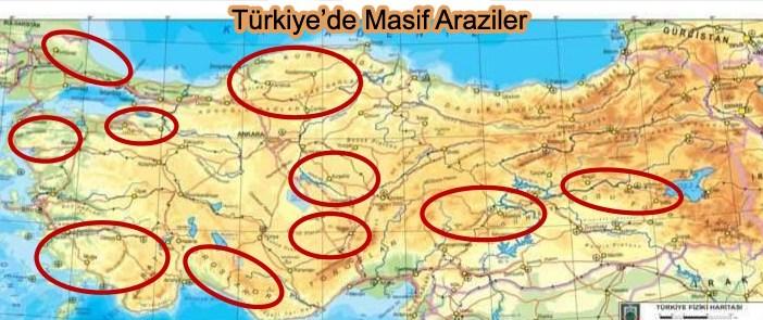 Türkiye'de Masif Araziler