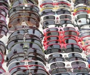 gafas sol falsas