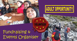 Adult Fundraising and Events Organiser Position