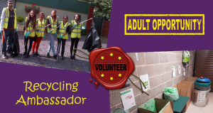 Adult Recycling Ambassador Position