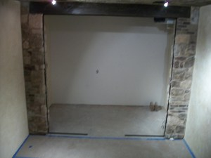 Featured Project: Shaw Residence Wine Room (Before)