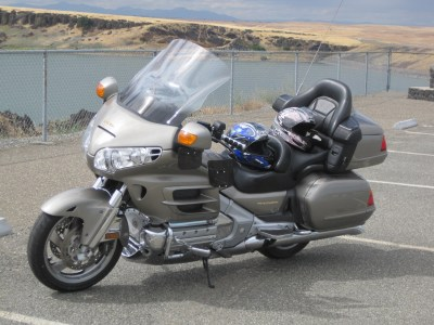 New Goldwing at Black Butte 2012-06-07