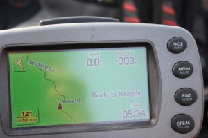 My GPS at Badwater