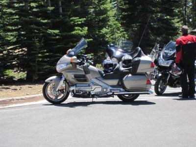First ride - Lassen Volcanic National Park